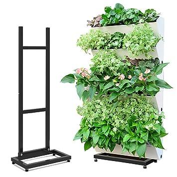 Amazon.com: sungmor alta gama vertical de jardín, maceta de ...