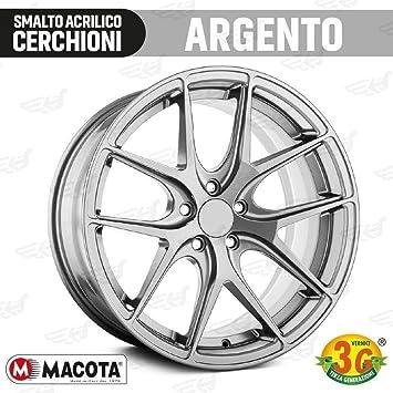 Macota - Pintura plateada de ruedas en espray, esmalte especial para llantas, cód.05691: Amazon.es: Coche y moto