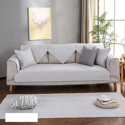 Divano copre sezionale,Cuscino per divani in cotone quattro stagioni ...