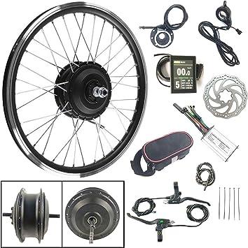 Schuck Kit de conversión de Bicicleta eléctrica 36V250W Buje ...