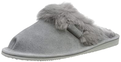 Hollert Leather Lammfell Hausschuhe - Malibu Damen Pantoffeln Fell Schuhe