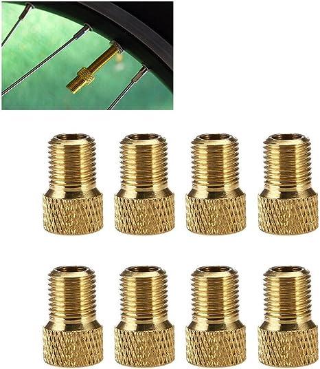 Kompassswc Neumáticos para Bicicleta Válvula Adaptador Válvula de ...