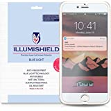 iPhone 7 Plus Screen Protector [2-Pack], iLLumiShield Blue Light Screen Protector for iPhone 7 Plus HD Shield with Anti-Bubble & Anti-Fingerprint UV-Filter Film