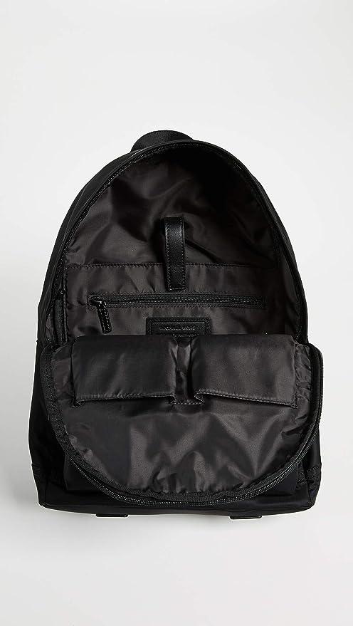 2dc3b029e8c8 Amazon.com: Michael Kors Men's Kent Nylon Backpack, Black, One Size: Shoes