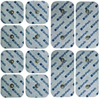 StimPads Elektroden voor Compex* Handige hersluitbare verpakking met 12 Compex* compatibele en duurzame elektroden…