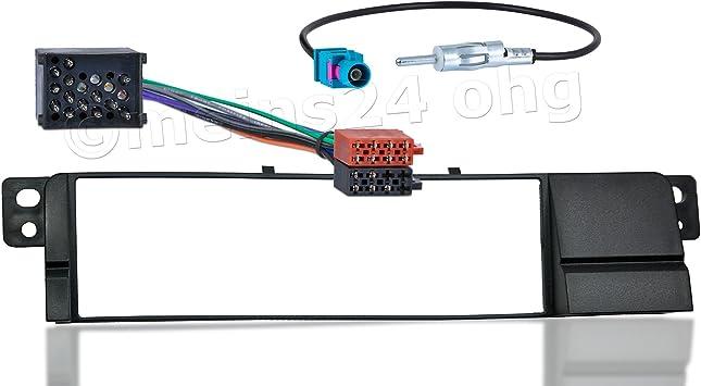 Meins24 10515201 Auto Radio Blende Adapter Stecker Antenne Din Auto