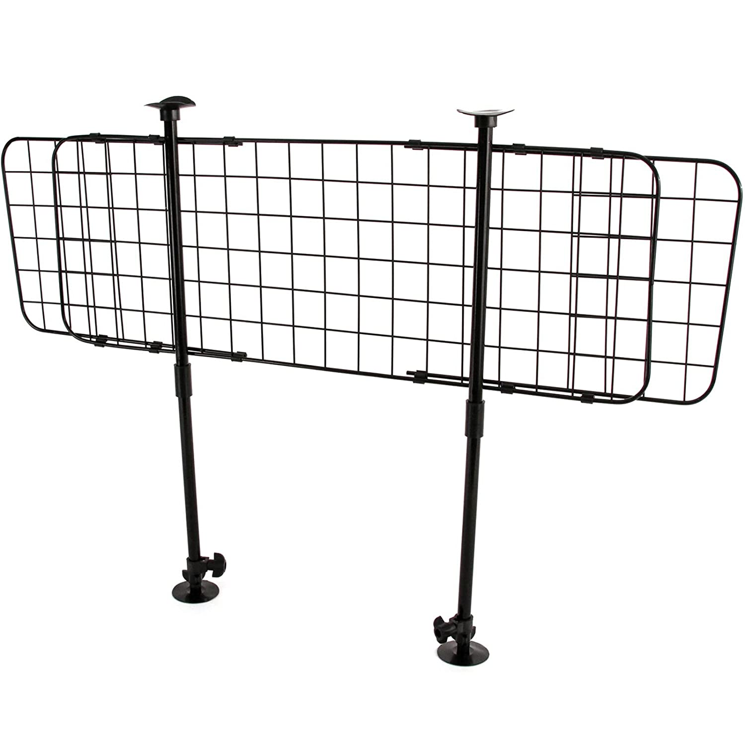 Amazon.com: Red Hound Auto Easy Mount Universal Wire Pet Barrier ...