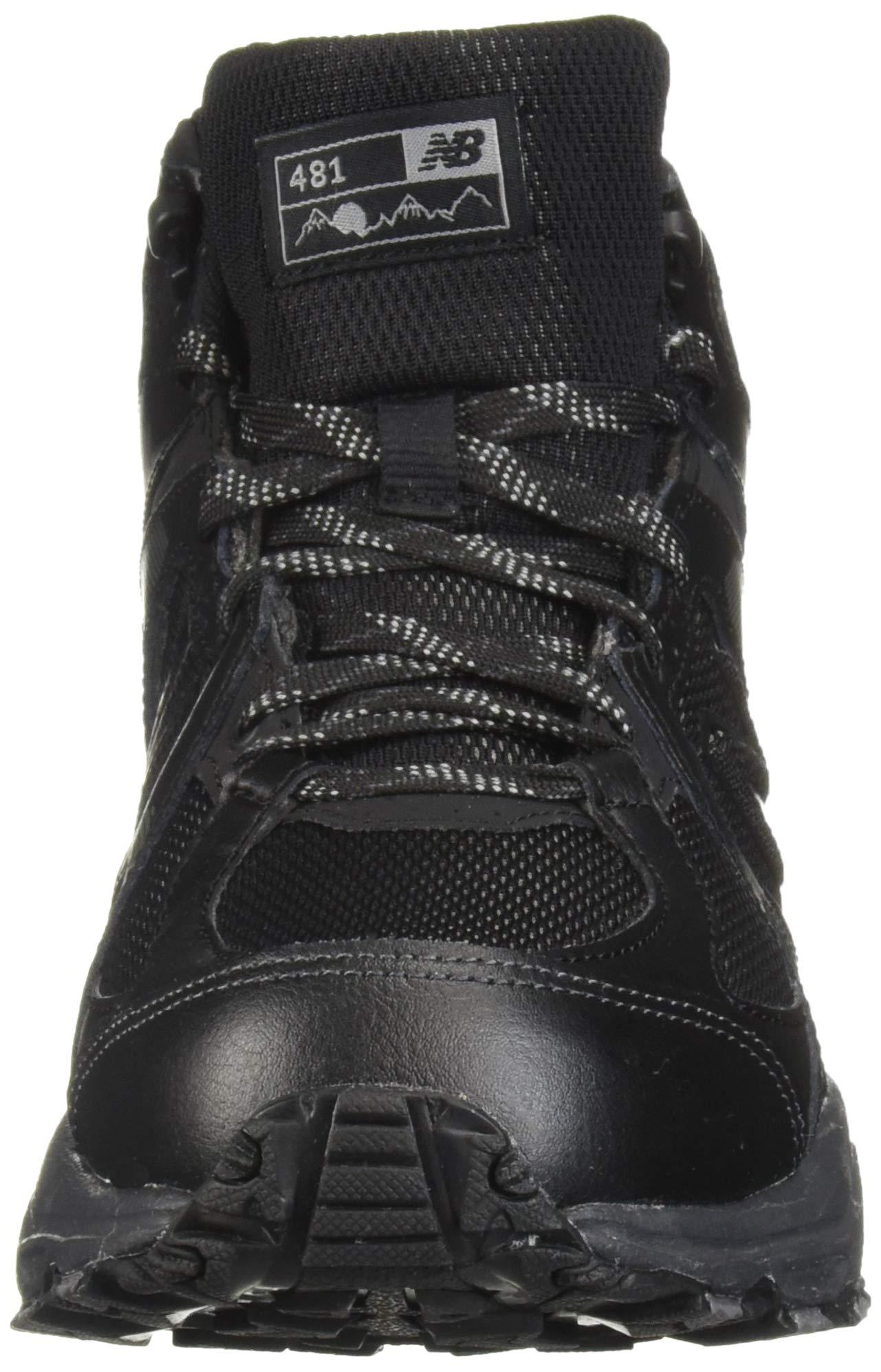 New Balance Men's 481 V3 Cushioning Trail Running Shoe Black/Magnet 9.5 D US by New Balance (Image #4)