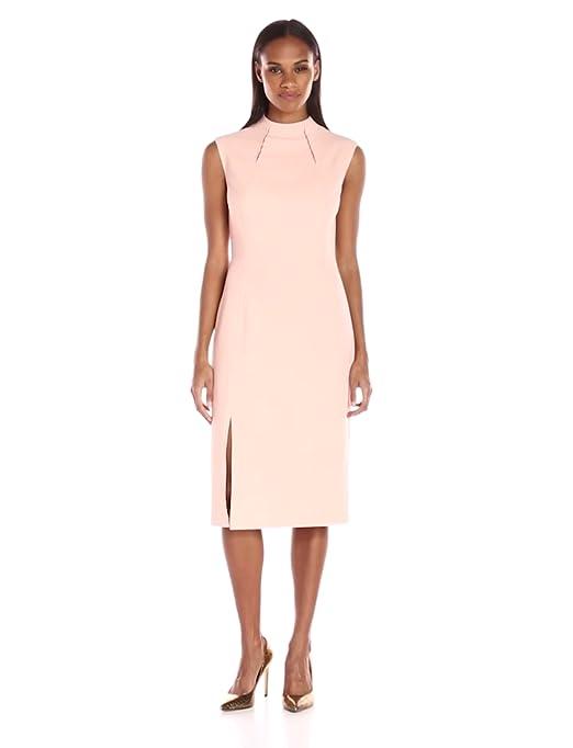 668c209cd6 Amazon.com  Ivanka Trump Women s Midi Scuba Crepe Dress