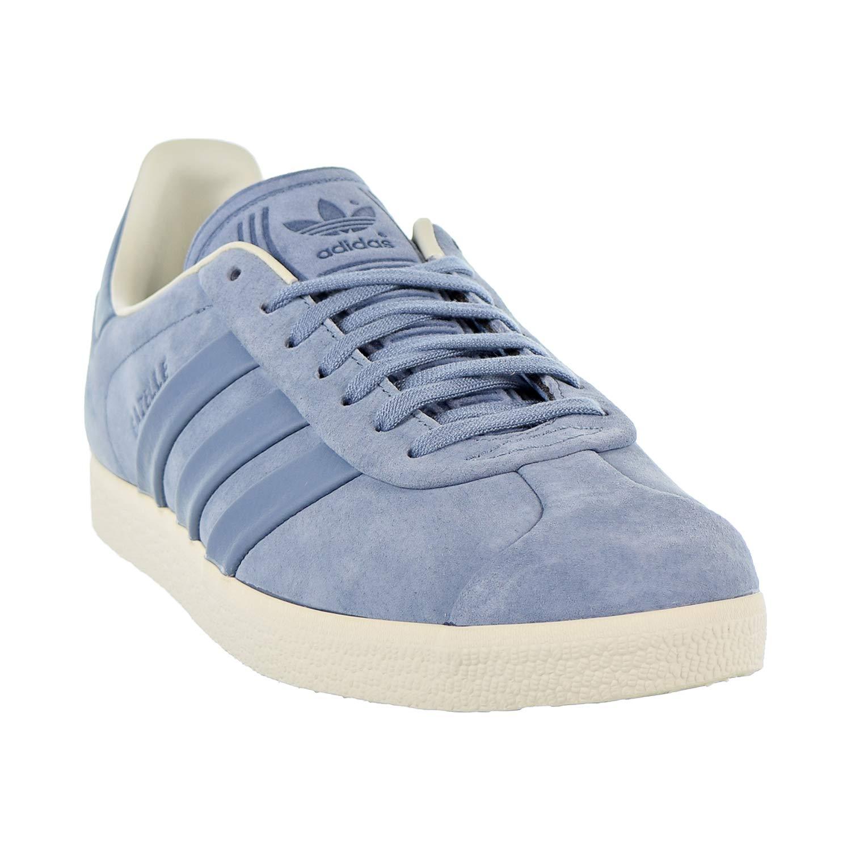 02d9c9a91c085 adidas Gazelle Stitch-and-Turn Mens Shoes Raw Grey/Raw Grey/Off White b37813
