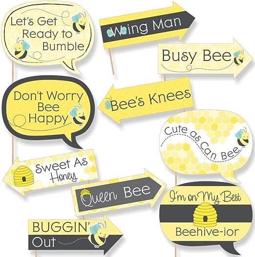 Amazon.com: Funny Honey Bee – Baby Shower o cumpleaños ...