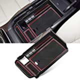 YEE PIN Mazda CX-30 Center Console Organizer Tray Armrest Tray Armrest Box Secondary Storage Insert ABS Materials Tray Compat