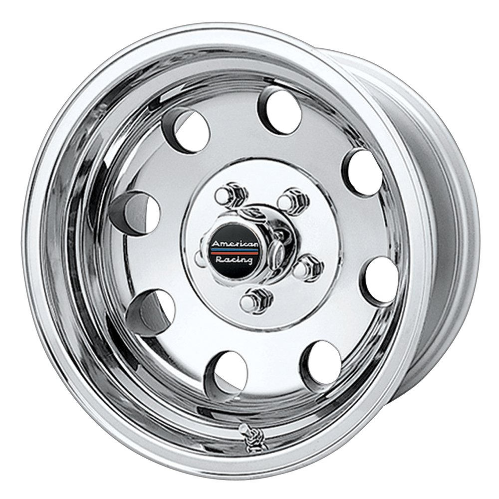American Racing Custom Wheels AR172 Baja Polished Wheel (17x8''/6x139.7mm, 0mm offset)