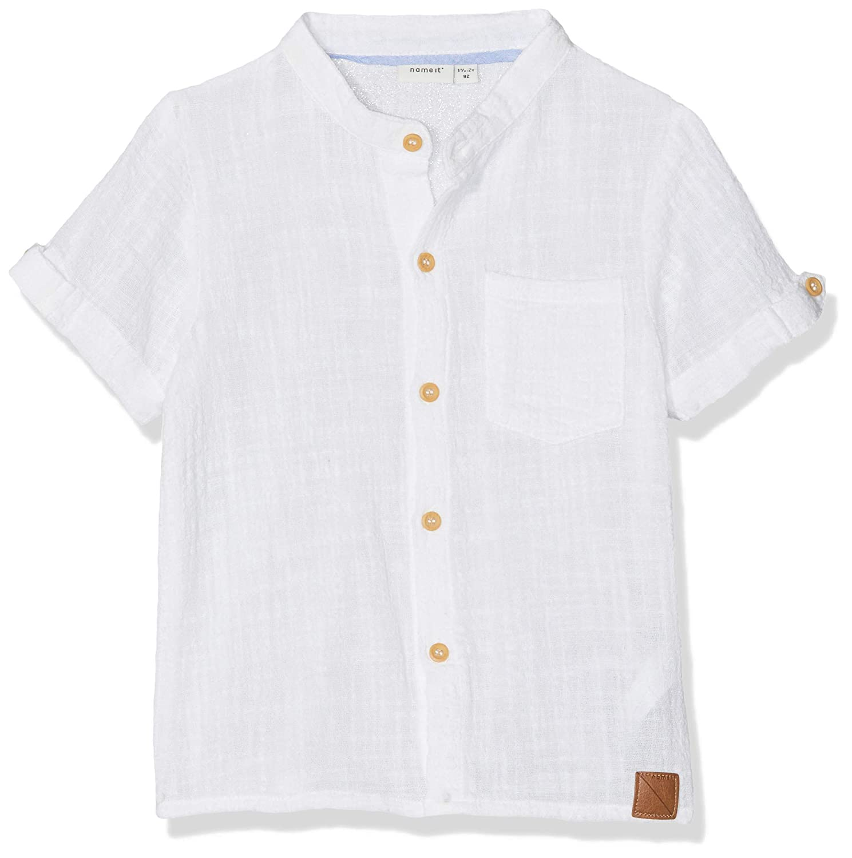 Name It Nmmhans SS Shirt Chemise B/éb/é gar/çon