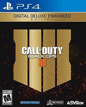 Amazon Com Call Of Duty Black Ops 4 Digital Deluxe Enhanced