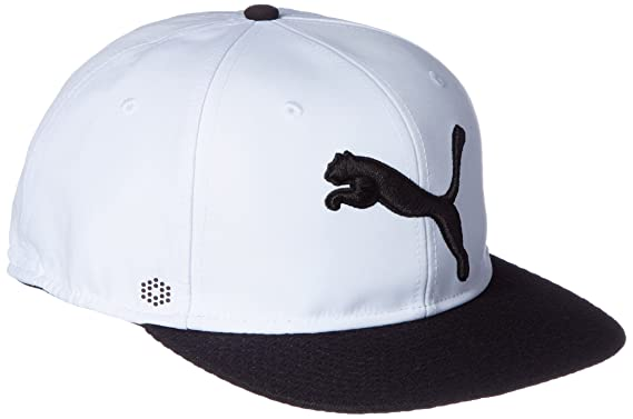 Puma Golf 2017 Mens Golf Micro Disc Cap - Bright White Puma Black - One 9c9859794a