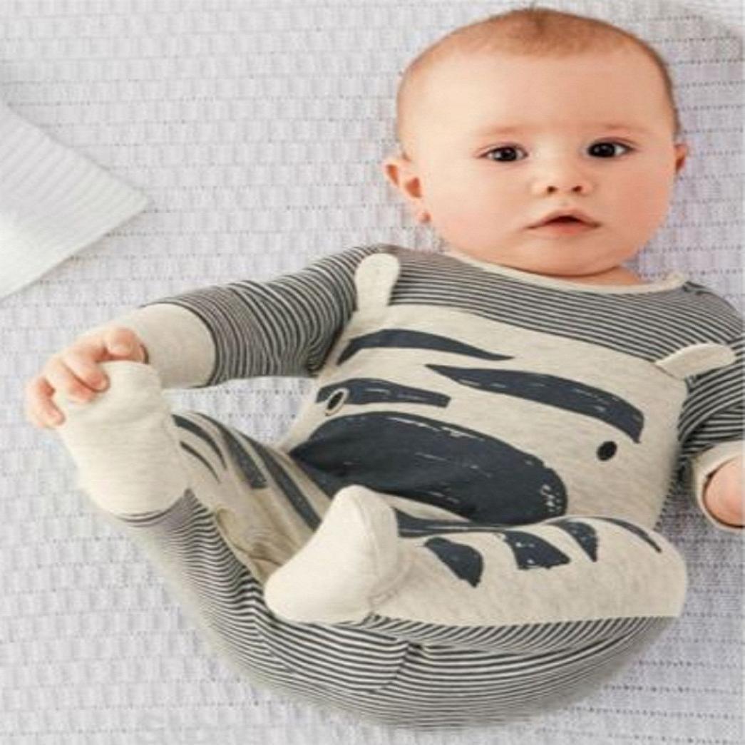 Tefamore Conjunto Batas+Sombrero La Ropa del Mameluco de Escalada Bebé Recién Nacido Otoño Invierno para Niños Tefamore-64126