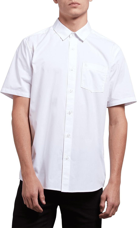 Volcom Everett - Camisa de manga corta para hombre - Blanco ...
