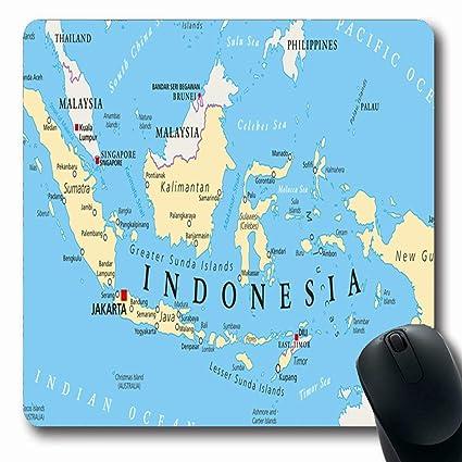 Amazon Com Ahawoso Mousepads For Computers Bali Java