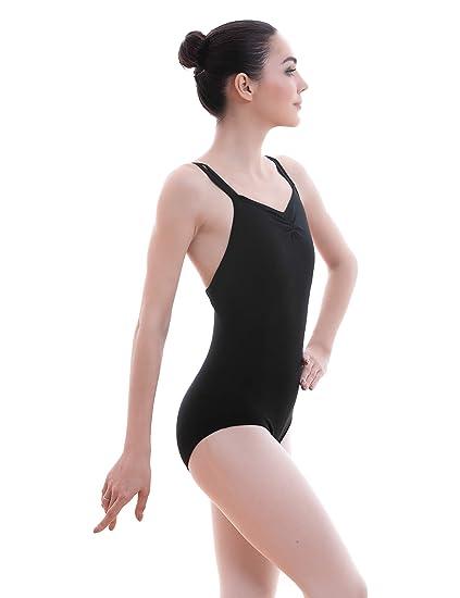 7263a08a8 Amazon.com  Dance Favourite Cross Dual Shoulder Straps Ballet ...