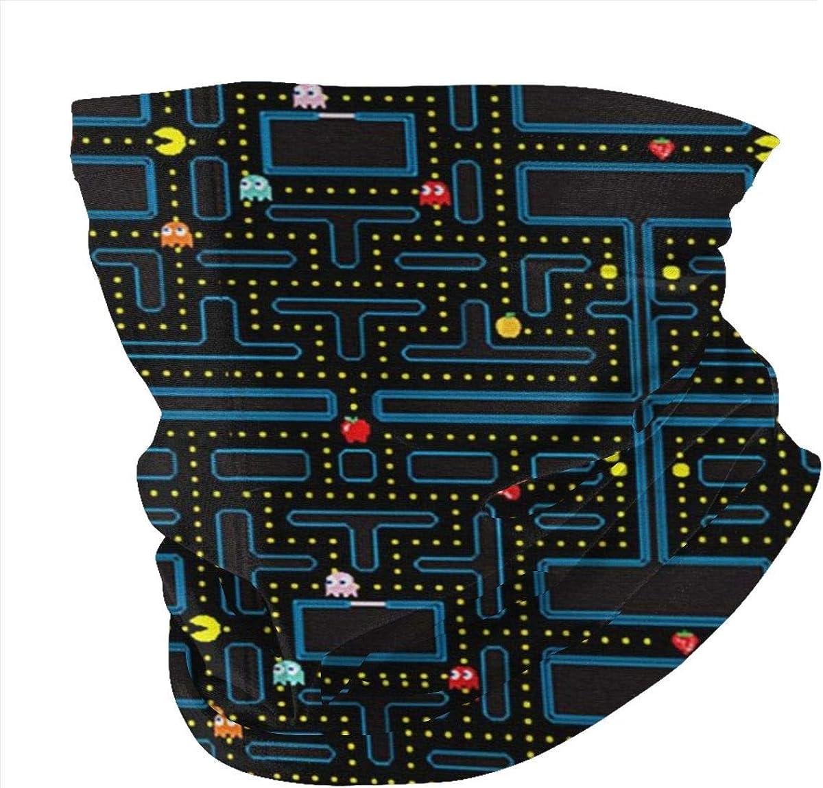 Bandanas Headwrap Retro Video Game Pattern Balaclava