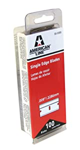 American Safety Razor 66-0089 Single Edge Razor Blade Box