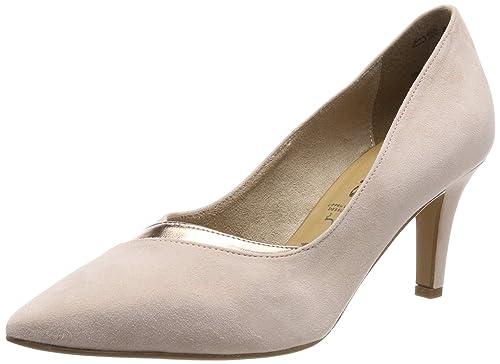 Tamaris Damen 22415 Pumps, Silber, EU: : Schuhe