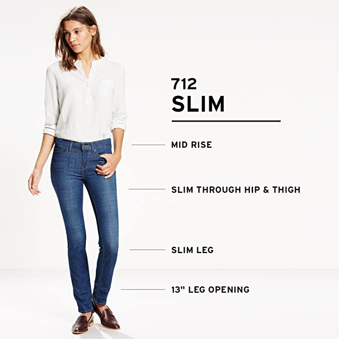 Amazon Women's Jeans 712 Slim At Levi's Jean Store wPkn8OX0