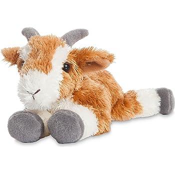 Aurora World Mini Flopsie Pickles Goat Plush Toy