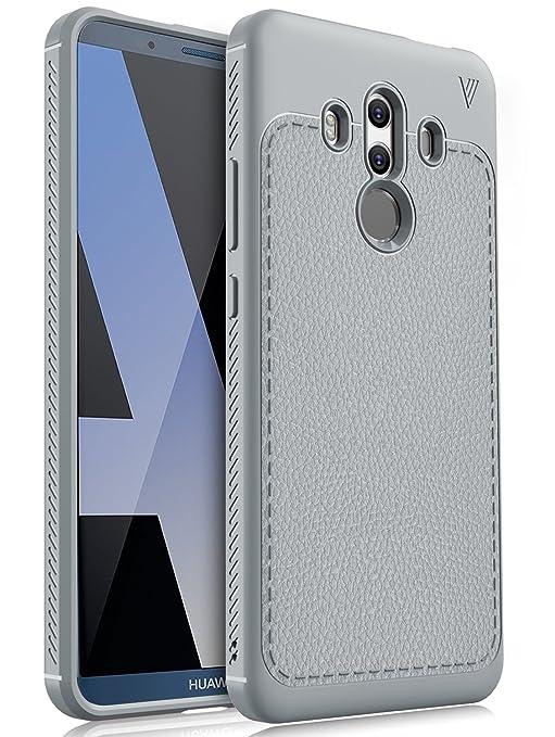 salvare 35905 df3e7 Huawei Mate 10 pro case, KuGi [Scratch Resistant] Premium Flexible Soft TPU  Case for Huawei Mate 10 pro Smartphone(Gray)