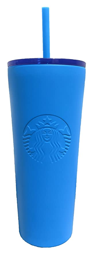 01bf36f377d Starbucks Stainless Steel Cold Cup 16 Ounce, Blue