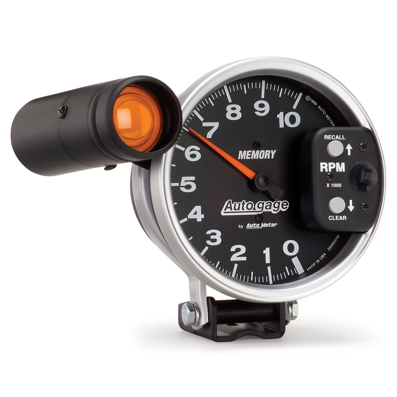 Auto Meter 233906 Autogage Shift-Lite Tachometer by AUTO METER