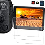 PCTC Tempered Glass LCD Screen Protector Films Compatible for Canon EOS 6D Mark II 2 6DII Protective Cover (3 Pack)