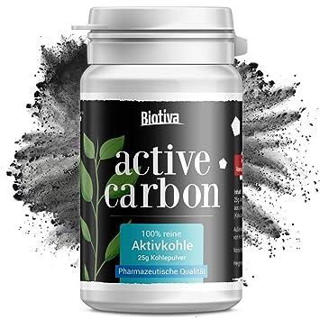 """El carbón activado """"Carbón activo"""" (25g) - Blanqueamiento de dientes -"""