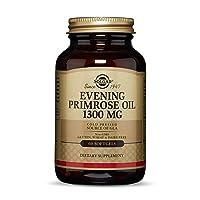 Solgar Evening Primrose Oil 1300 mg, 60 Softgels - Promotes Healthy Skin & Cardiovascular...