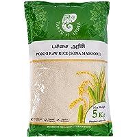 Taste of India Ponni Raw Rice (Sona Masoori), 5 kg (packaging may vary)