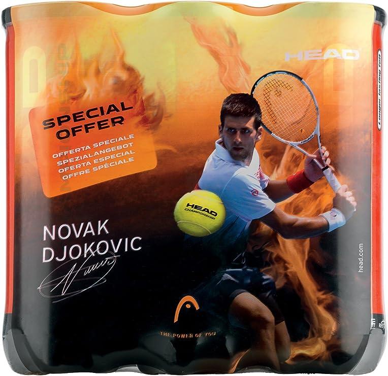 Head Djokovic - Pelotas de tenis, 3 botes Talla:---: Amazon.es ...
