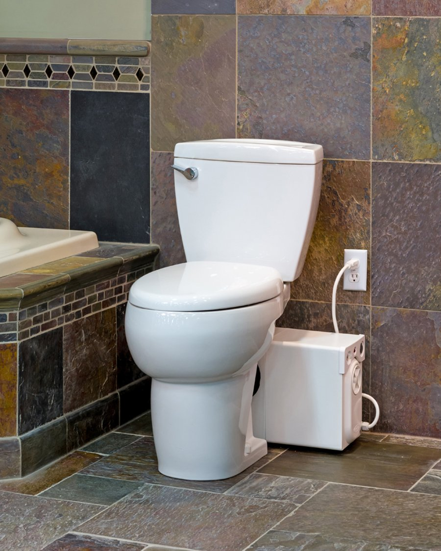 Thetford Bathroom Anywhere Macerating Elongated Toilet Kit 42819 ...