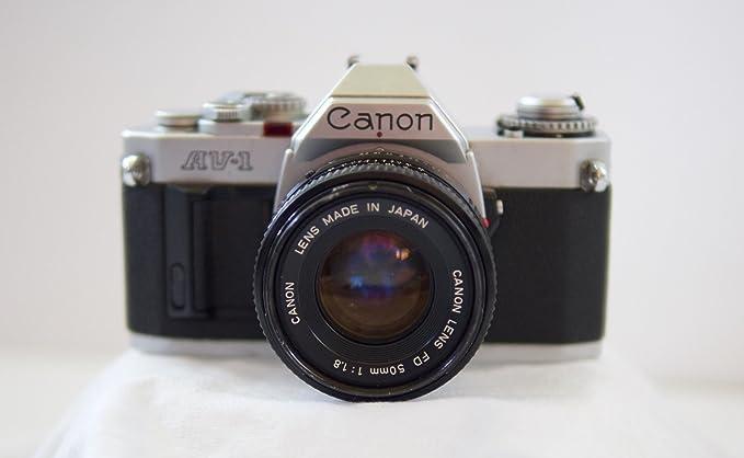 Review Canon AV-1 35mm SLR