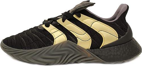adidas Sobakov Boost Mens in BlackGold MetallicCarbon