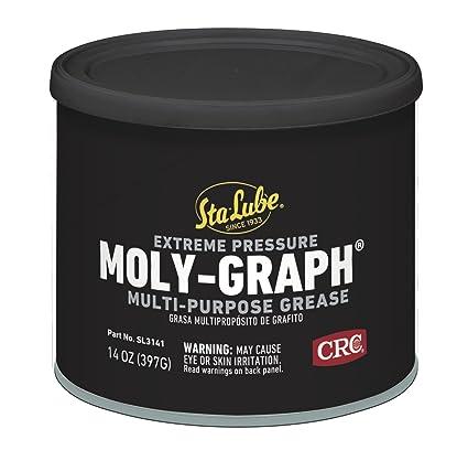 Amazon.com: Sta-Lube SL3141 Moly-Graph - Grasa de litio ...