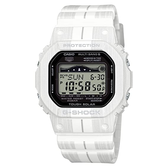 Casio gwx5600wa-7 reloj para hombre blanco 48,9 mm G-shock - Reloj: Casio: Amazon.es: Relojes