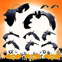 Halloween decoratie 10 stuks Halloween vleermuis decoraties helHalloween party accessoires Halloween hangende vleermuis…