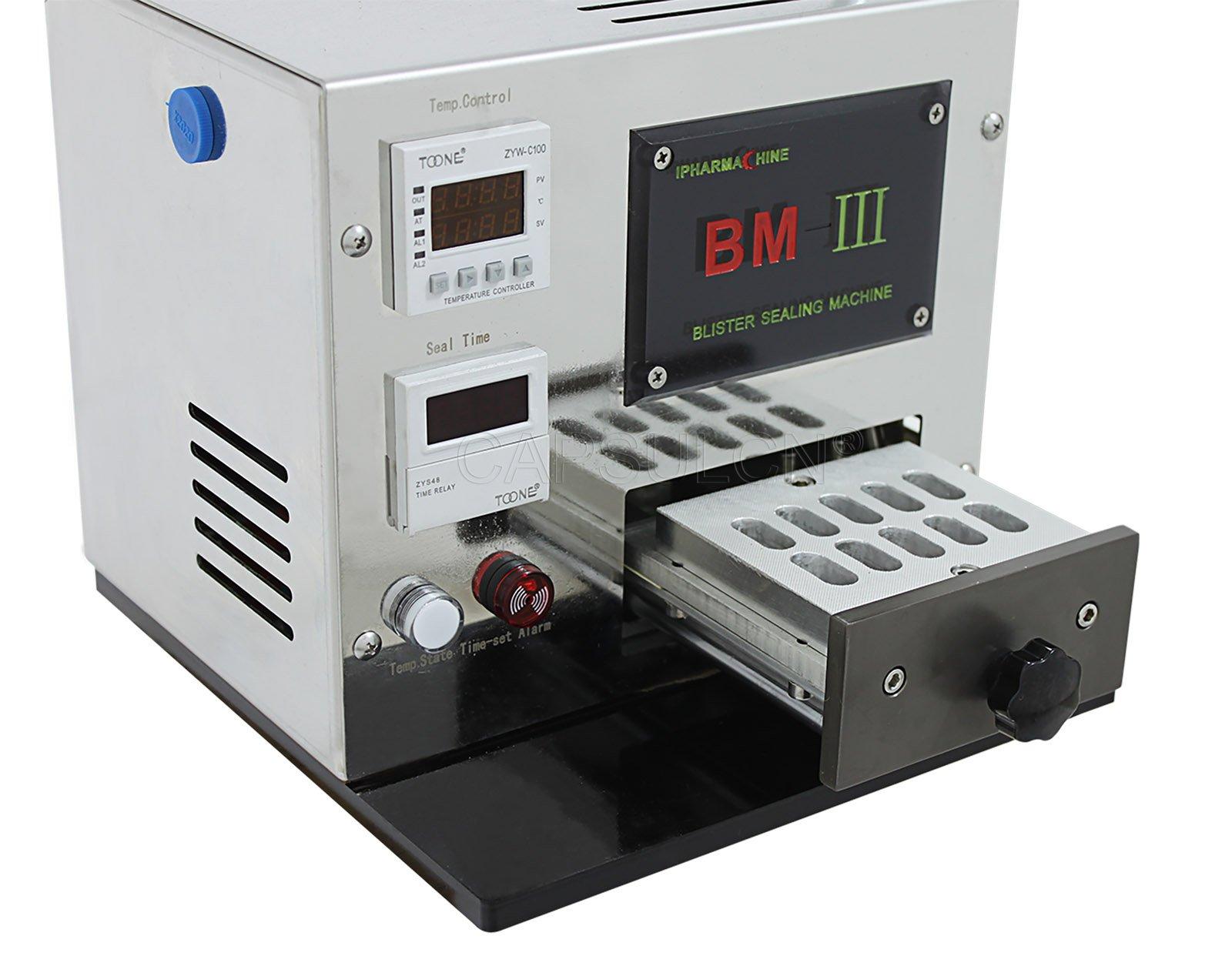 Capsulcn®,Blister Card Sealing machine BM-III Blister Packaging machine (110V/60HZ)