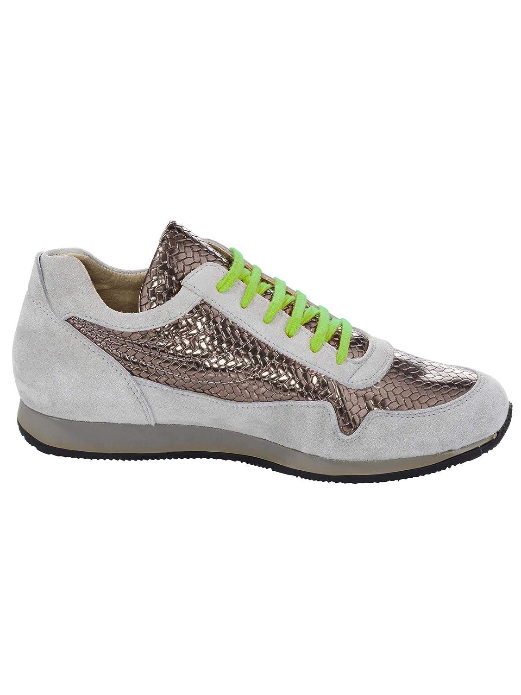 Sehr Schönes Sneaker Flecht-Prägung mit edlem Glanzeffekt