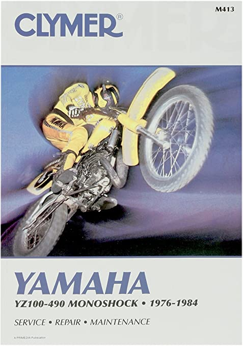 amazon com 76 84 yamaha yz250 clymer service manual misc automotive rh amazon com Clymer Reamer Specs Clymer Manuals Review