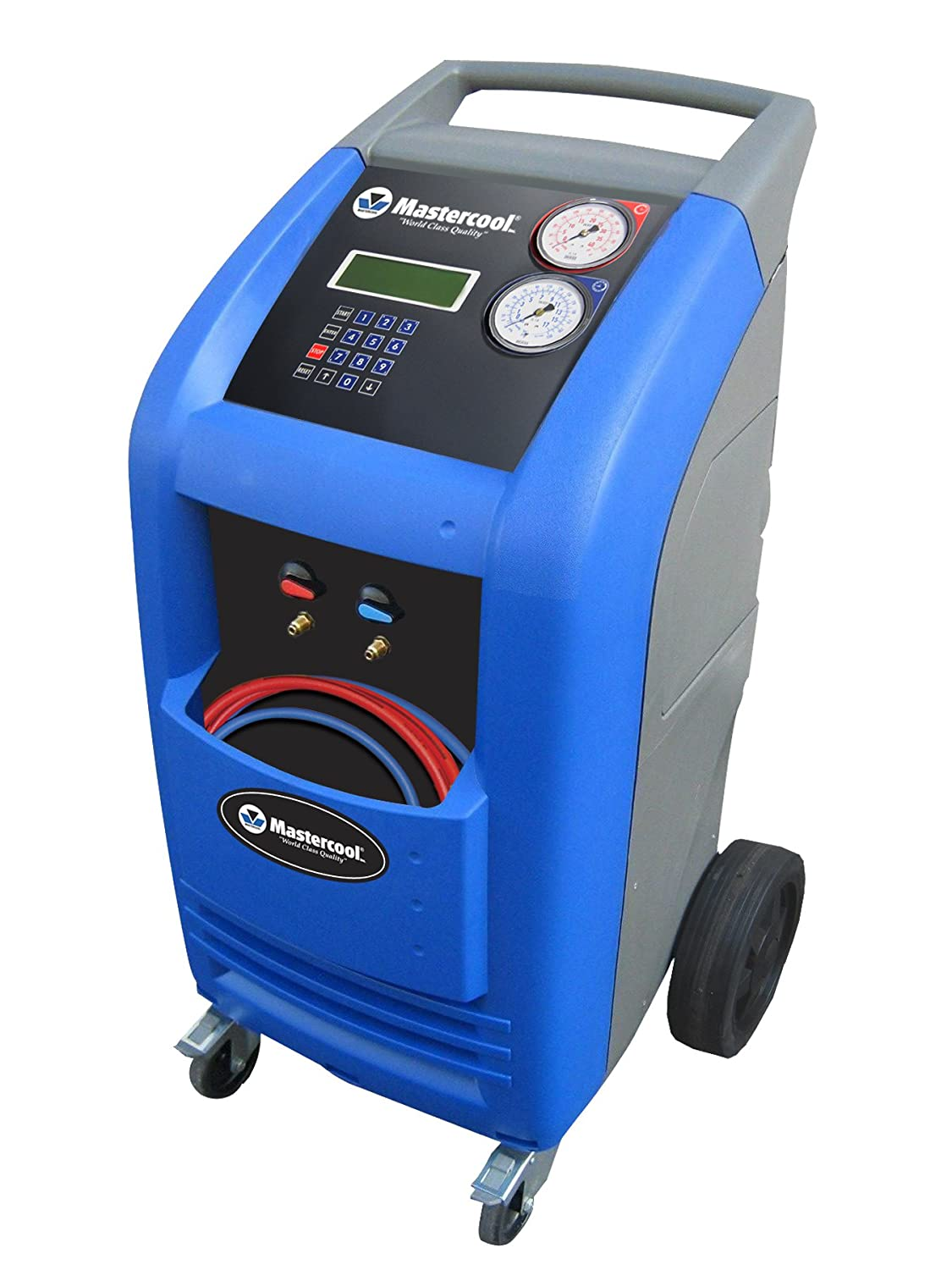 Mastercool (69788-A) Blue/Gray Automatic Recover/Recycle/Recharge Machine