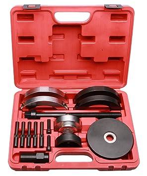 lars360 Cilindro de almacenamiento Herramientas de desmontaje de rueda Cambio de rodamientos Buje Coche Herramientas Extractor
