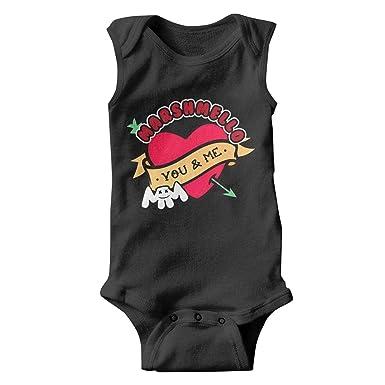 Amazon.com: Marshmello-You-and-me- Traje para bebé natural ...