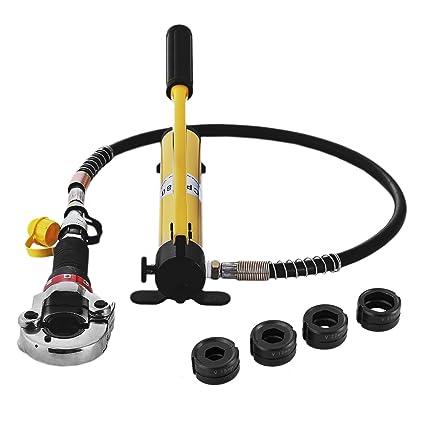 Guellin 15-28 mm Alicate para Tuberia Alicate para Tubos Compuestos PEX PE-X